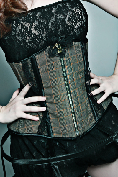 Corset underbust Antique